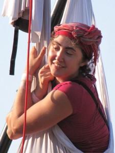 Charlotte KOLLY, tournée en Corse, juillet 2010.