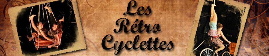 spectacle les Rétro Cyclettes Jessica Ros Charlotte Kolly velos acrobates