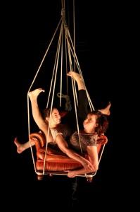 Albert, Jessica Ros, Charlotte Kolly, Les Retro Cyclettes Velo acrobate